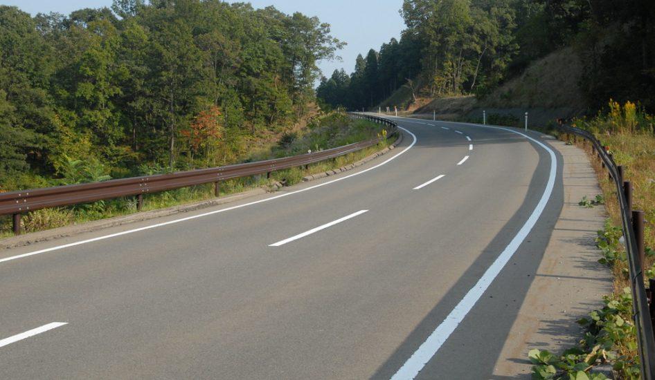道路(健康の森周辺)