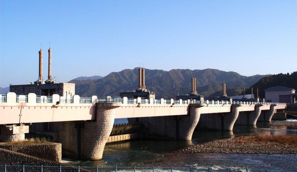 鳴鹿大堰(坂井市)