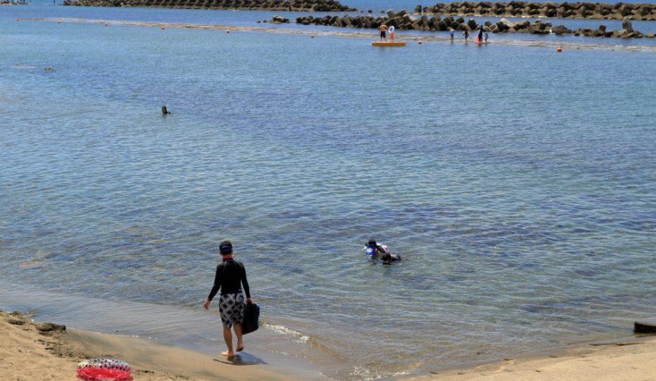 越廼海水浴場
